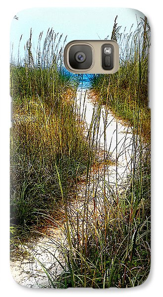 Galaxy Case featuring the photograph Winding Path by Linda Olsen