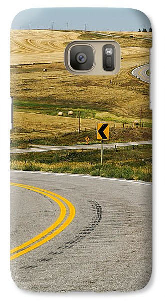 Galaxy Case featuring the photograph Winding Road by Sue Smith
