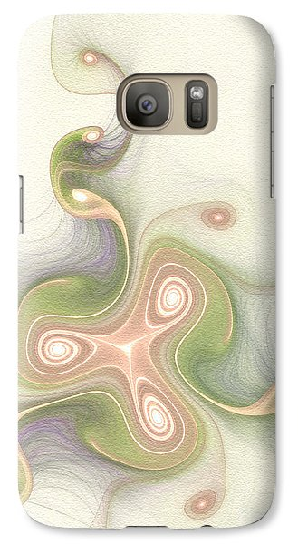 Galaxy Case featuring the digital art Winding by Svetlana Nikolova