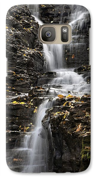 Winding Waterfall Galaxy S7 Case by Christina Rollo
