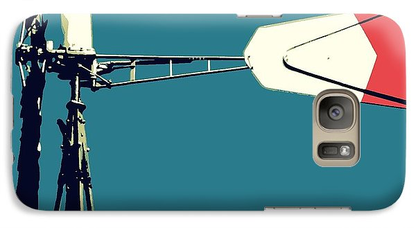 Galaxy Case featuring the digital art Windmill 2 by Valerie Reeves