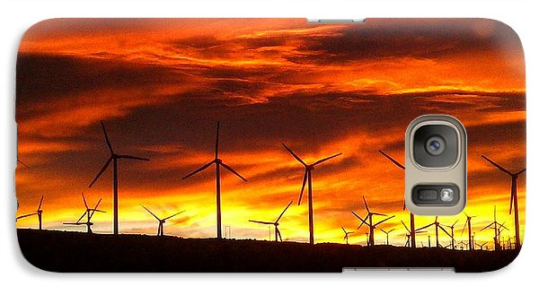 Galaxy Case featuring the photograph Shades Of Light  by Chris Tarpening