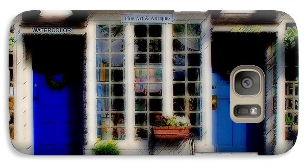Galaxy Case featuring the photograph Window Art by Caroline Stella
