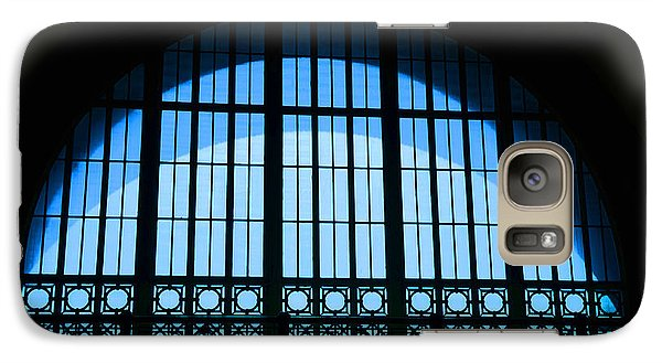 Galaxy Case featuring the photograph Window In Chattanooga Train Depot by Susan  McMenamin