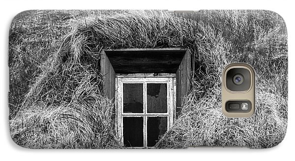 Galaxy Case featuring the photograph Window In Nature by Frodi Brinks