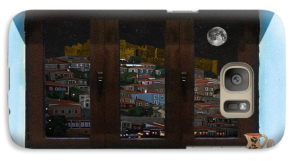 Galaxy Case featuring the photograph Window Into Greece 3 by Eric Kempson
