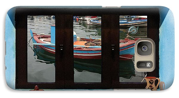 Galaxy Case featuring the photograph Window Into Greece 6 by Eric Kempson