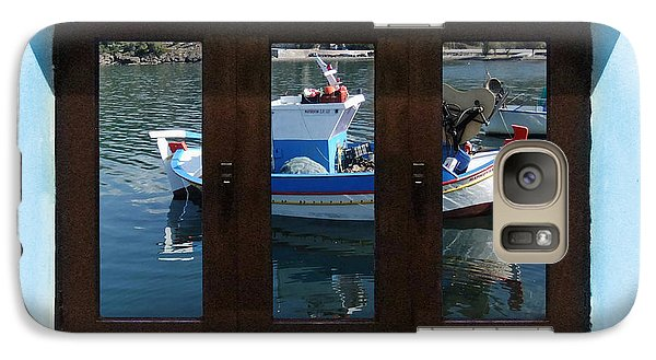 Galaxy Case featuring the photograph Window Into Greece 7 by Eric Kempson
