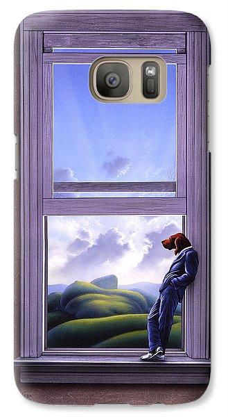 Surrealism Galaxy S7 Case - Window Of Dreams by Jerry LoFaro