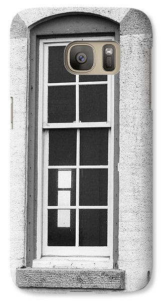 Galaxy Case featuring the photograph Window On The Other Side by Angi Parks