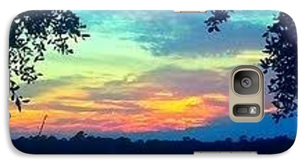 Galaxy Case featuring the photograph Window To Life by Joetta Beauford