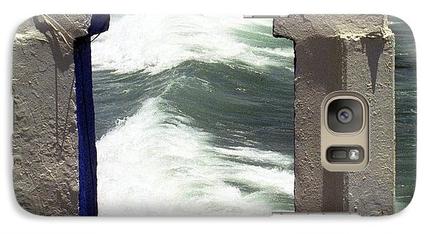 Galaxy Case featuring the photograph Window To The Ocean by Philomena Zito