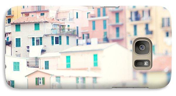 Windows Of Cinque Terre Italy Galaxy S7 Case by Kim Fearheiley