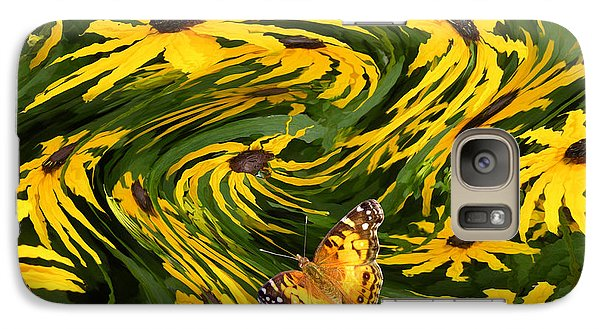 Galaxy Case featuring the photograph Windswept by Mariarosa Rockefeller