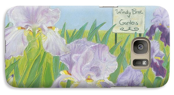 Galaxy Case featuring the painting Windy Brae Gardens by Arlene Crafton