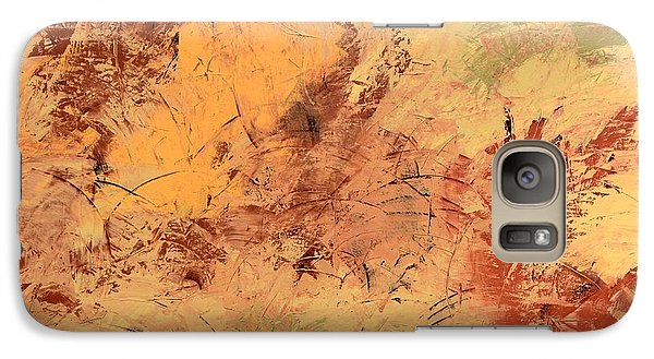 Galaxy Case featuring the painting Windy Day by Linda Bailey