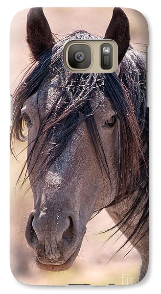 Galaxy Case featuring the photograph Windy Day by Lula Adams