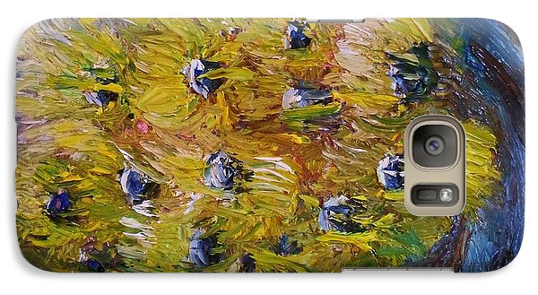 Galaxy Case featuring the painting Windy by Laurie L