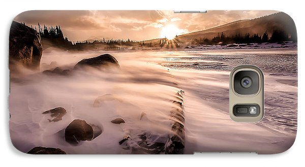 Galaxy Case featuring the photograph Windy Morning by Steven Reed