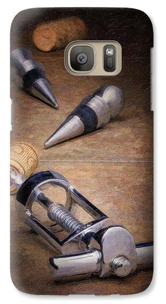 Wine Accessory Still Life Galaxy S7 Case by Tom Mc Nemar