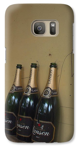 Galaxy Case featuring the photograph Wine And A Man by Rachel Mirror