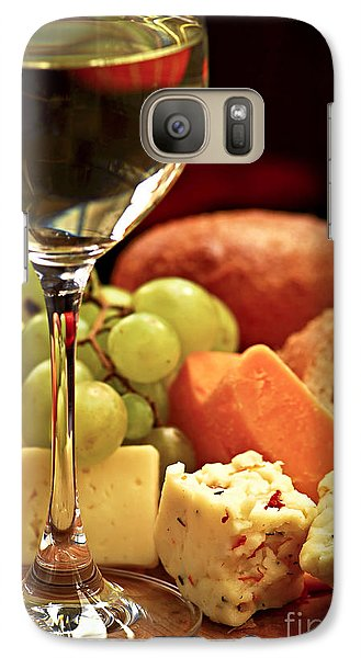 Wine And Cheese Galaxy S7 Case