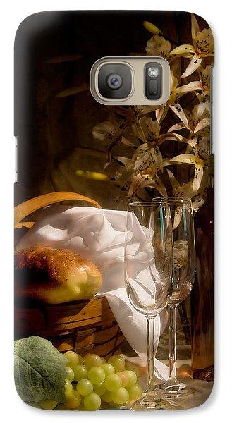 Wine And Romance Galaxy S7 Case