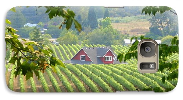 Galaxy Case featuring the photograph Wine Country by Debra Kaye McKrill