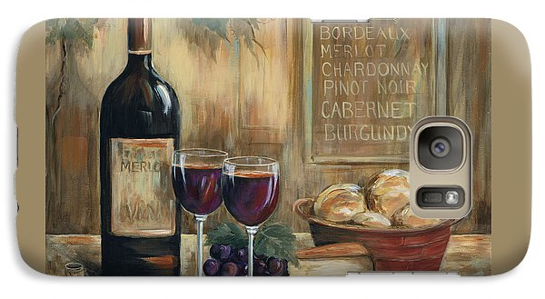 Wine Galaxy S7 Case - Wine For Two by Marilyn Dunlap
