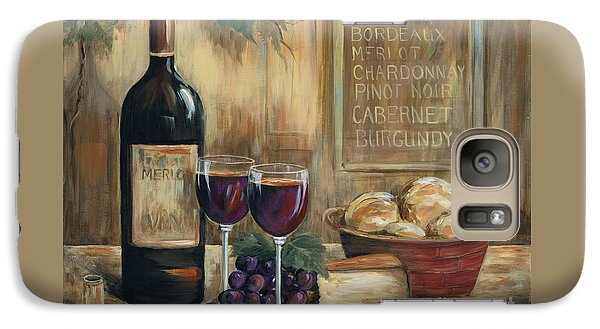 Wine For Two Galaxy Case by Marilyn Dunlap