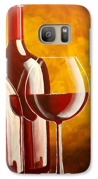 Galaxy Case featuring the painting Wine Not by Darren Robinson