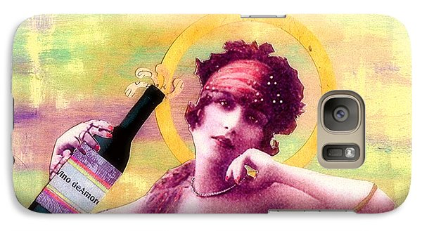 Galaxy Case featuring the painting Wine Of Love by Desiree Paquette