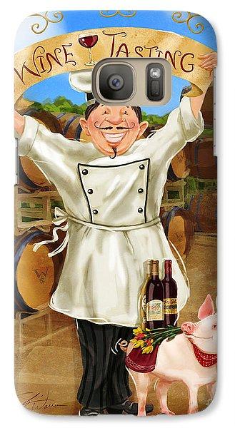 Wine Tasting Chef Galaxy S7 Case