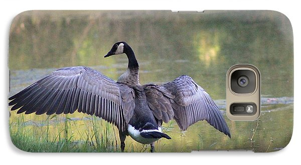 Galaxy Case featuring the photograph Wing Span by Lorna Rogers Photography