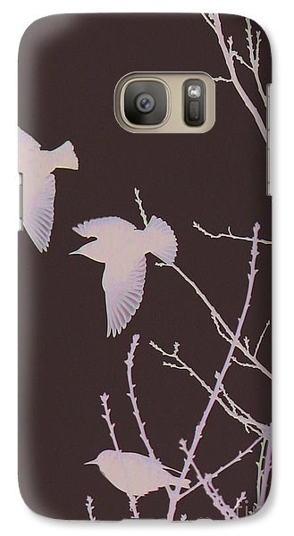Galaxy Case featuring the photograph Winged Ones by Jeanette French