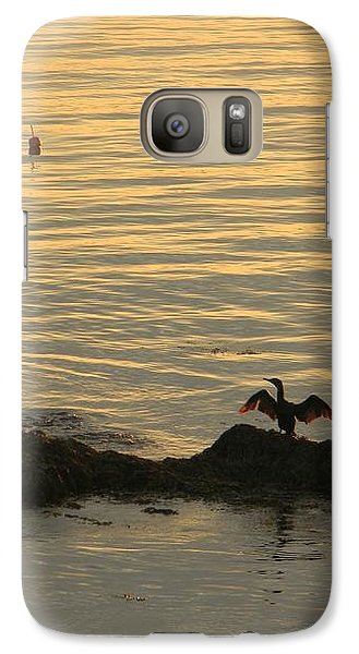 Galaxy Case featuring the photograph Wings by Jean Goodwin Brooks