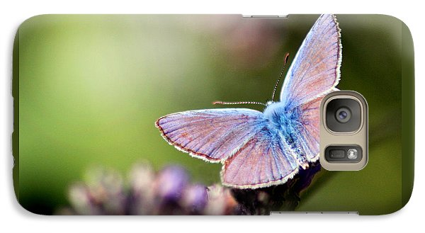 Galaxy Case featuring the photograph Wings Of Tenderness by Martina  Rathgens