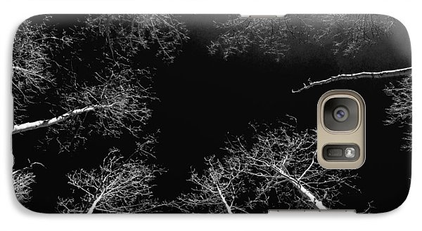 Galaxy Case featuring the photograph Winter Aspen  by Eric Rundle