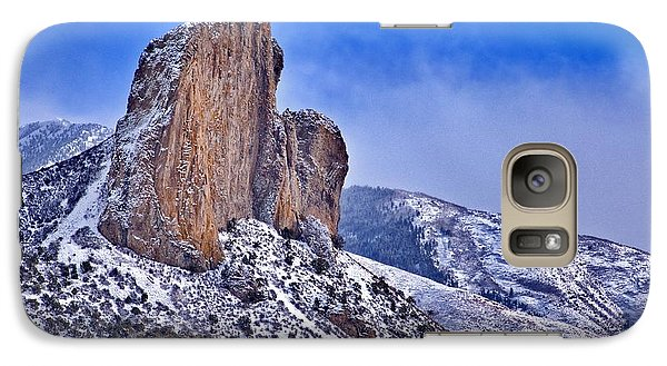 Galaxy Case featuring the photograph Winter At Needlerock by Eric Rundle