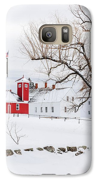 Galaxy Case featuring the photograph Winter At Shaker Village by Robert Clifford