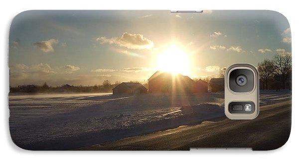Galaxy Case featuring the photograph Winter Beauty  by Deborah DeLaBarre