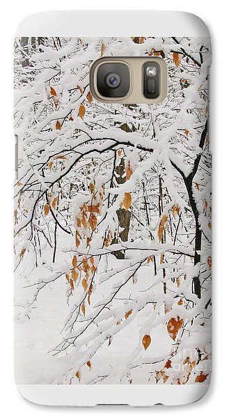 Galaxy Case featuring the photograph Winter Branches by Ann Horn