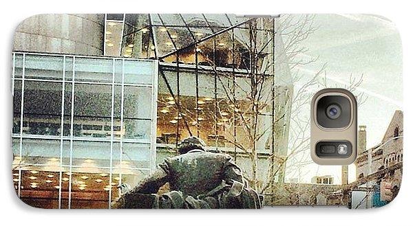Galaxy Case featuring the photograph Winter Break Poe by Toni Martsoukos