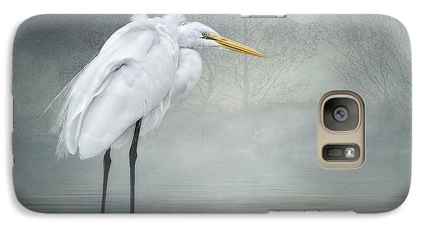 Galaxy Case featuring the photograph Winter Breeze by Brian Tarr