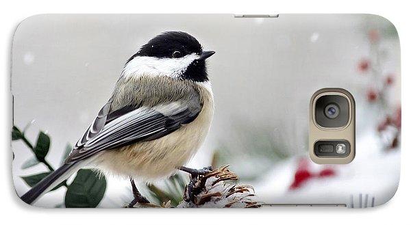 Winter Chickadee Galaxy S7 Case
