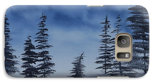 Galaxy Case featuring the painting Winter Chill by Jennifer Muller