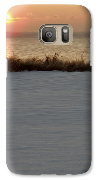 Galaxy Case featuring the digital art Winter Coast by Kelvin Booker