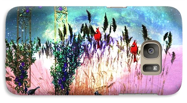 Galaxy Case featuring the digital art Winter Dreams by Mary Anne Ritchie