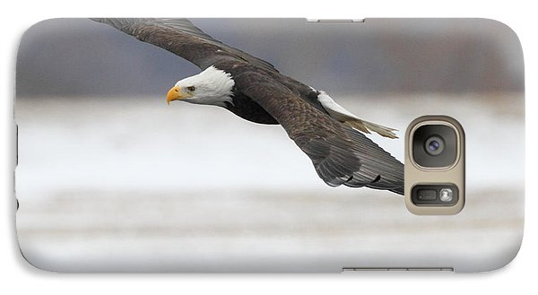 Galaxy Case featuring the photograph Winter Eagle by Coby Cooper