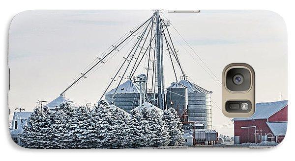 Winter Farm  7365 Galaxy S7 Case by Jack Schultz